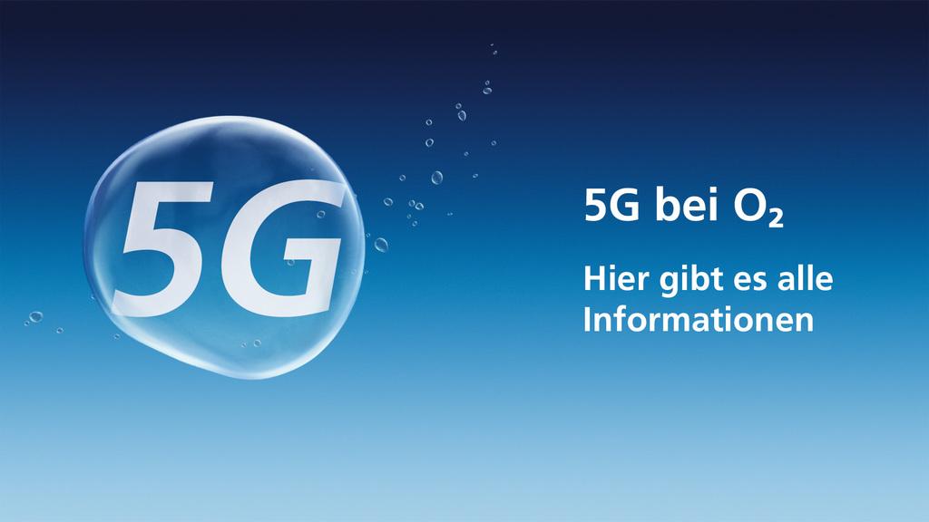 Erste 5G-Tarife (5G-Ready) von O2