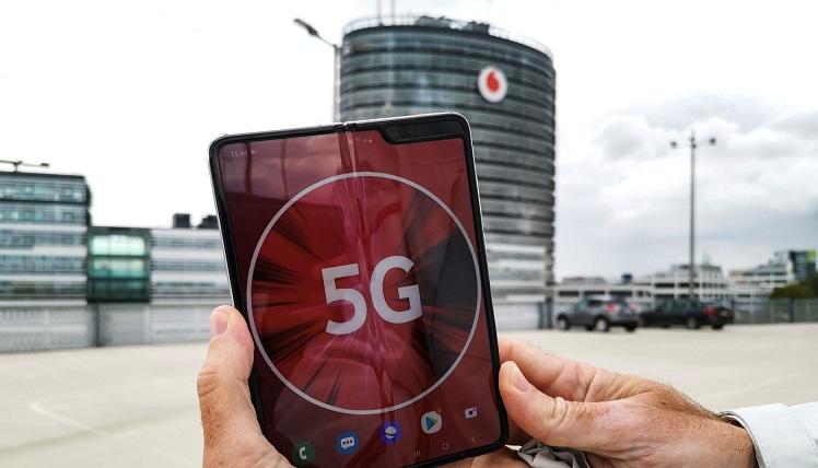 Für die 5G Tarife von Vodafone wird ein 5G